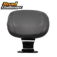 Motorcycle Leather Driver Rider Sissy Bar Seat Driver Backrest Back Rest For Honda VTX1300