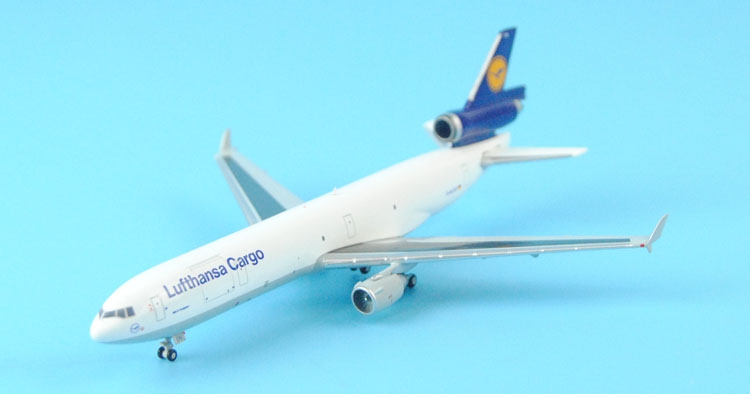 Gifts Gemini Jets 1: 400 GJDLH1371 Lufthansa German Airlines MD-11F D-ALCN Alloy aircraft model Favorites Model платье lost ink curve lost ink curve lo030ewlqm56