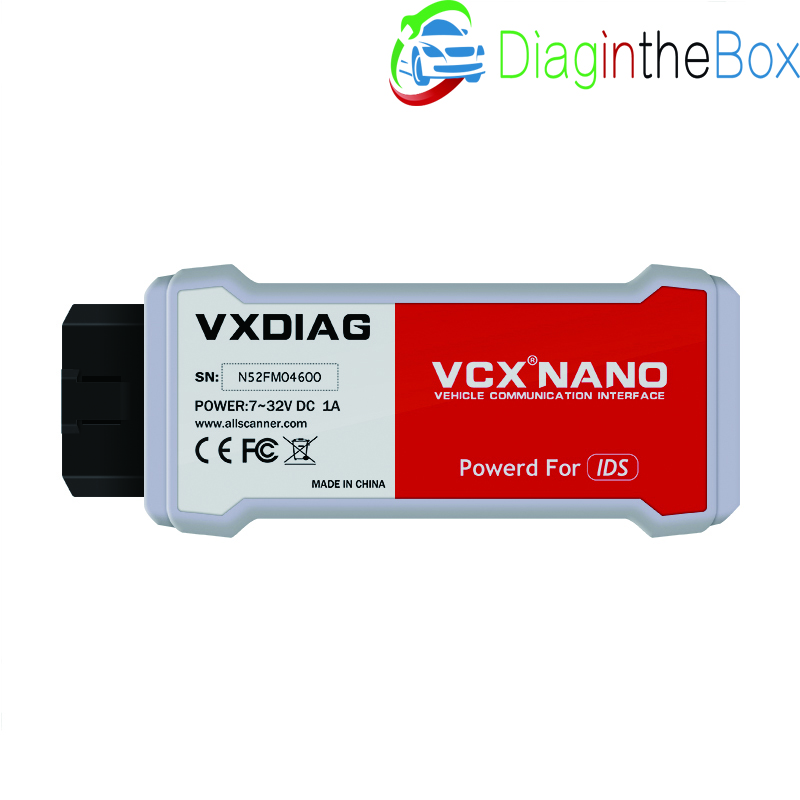 Hot Newest! VXDIAG VCX NANO for Ford for Mazda 2 in 1 with
