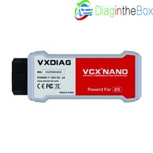 VXDIAG VCX NANO для Ford/Mazda 2 в 1 с IDS V101 V104 Идеальная замена для Ford VCM II 2 обновление онлайн