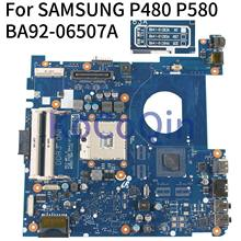 KoCoQin Laptop motherboard Für SAMSUNG P480 P580 Mainboard BA41-01263A BA92-06507A HM55