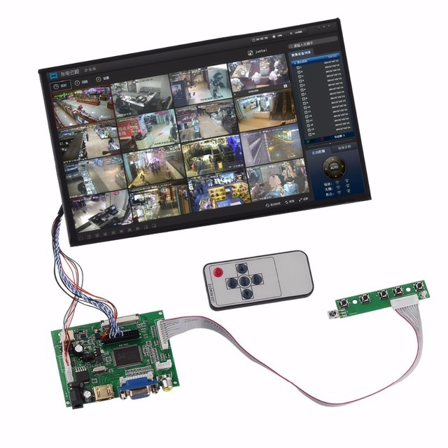 ملحقات حزم 10.1 شاشة الكريستال السائل شاشة TFT شاشات كريستال بلورية N101ICG L21 + عدة HDMI VGA المدخلات لوحة للقيادة لمعدات الرصد