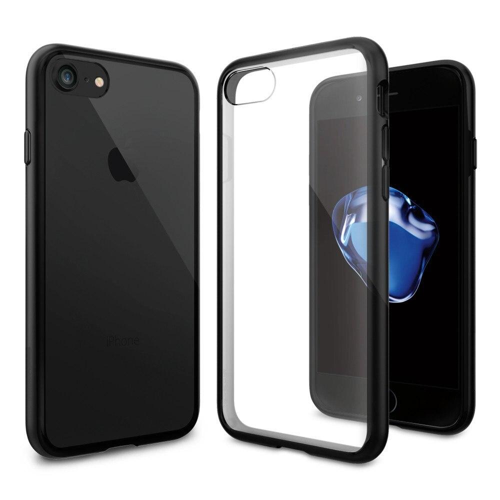 bilder für Ultra Hybrid Fall für iPhone 7 Clear Rückseite Militärischen Grad Stoßfallschutz Telefon Fällen & Abdeckungen für iPhone 7