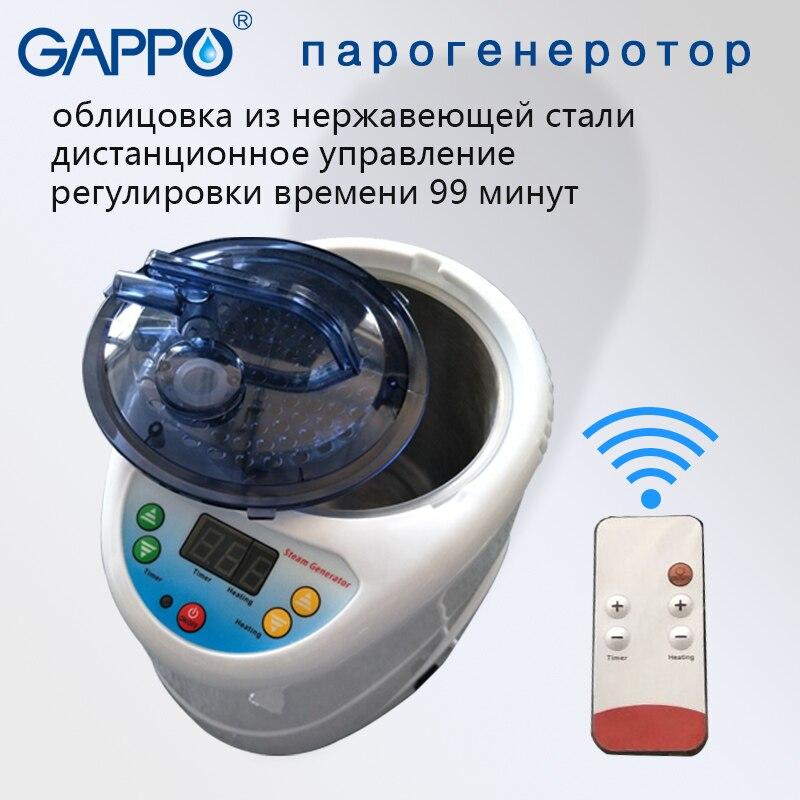 GAPPO vapeur Sauna générateur CE Rohs 110 V/220 V EU/US Plug 1000 W capacité 2L vapeur Pot Spa bénéfique peau sauna à la maison
