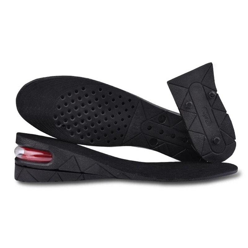 3-9cm Almofada Palmilha Aumento da Altura do Elevador de Altura Ajustável Corte Inserir Mais Alto Do Salto Do Sapato Mulheres Homens Unisex Qualidade almofadas do pé