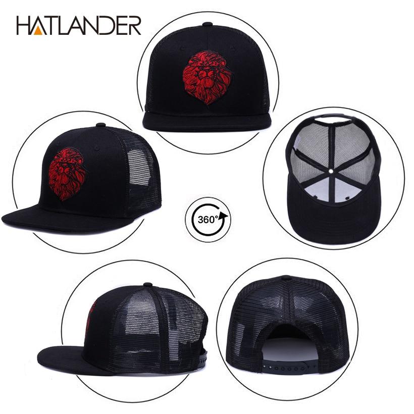 black trucker hat Details
