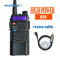 BaoFeng UV-8HX Walkie Talkie VHF/UHF136-174Mhz&400-520Mhz Dual Band Two way radio Baofeng uv 5r Portable Walkie talkie uv5r