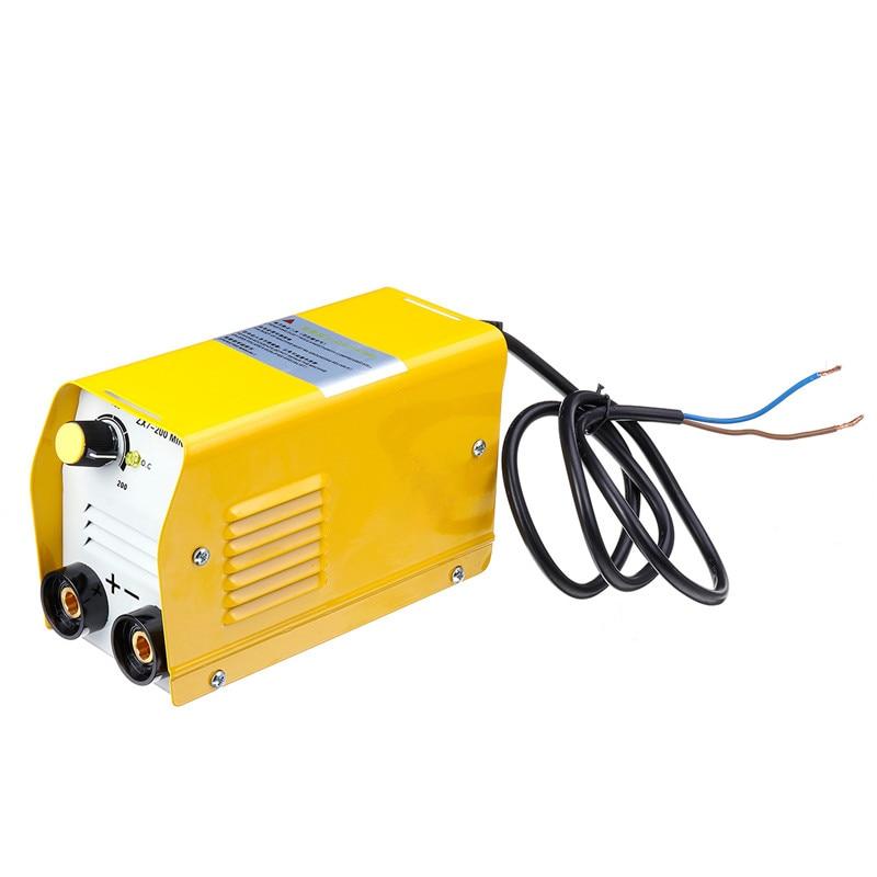 ZX7-200 220V Mini 20A-200A Elektrische Schweißen Maschine IGBT DC Inverter ARC Schweißen-schweißer 190mm x 120mm x 85mm