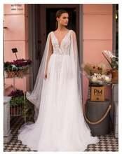 Недорогое свадебное платье ТРАПЕЦИЕВИДНОЕ без рукавов модель
