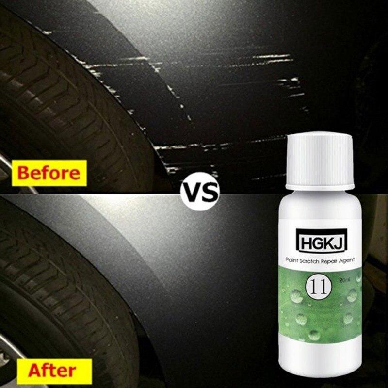 """שליכט אקרילי HGKJ-11-20ml / 50 מ""""ל לגרד לתקן צבע שעווה צחצוח נוזלי לגרד לתקן רכב סוכן אוטומטי פולנית זכוכית Paint Care (5)"""