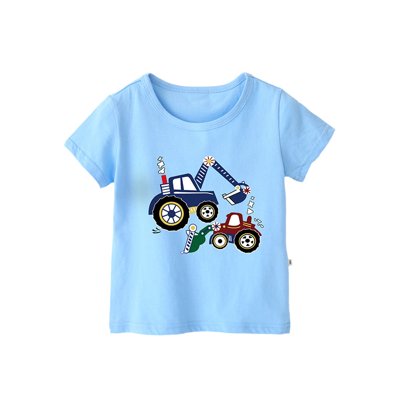 VIDMID Cotton Children's T-Shirts Tees Summer Baby Boys T-shirt Short Sleeve Kids T-Shirt Tees Children Clothes Tops 4018 41