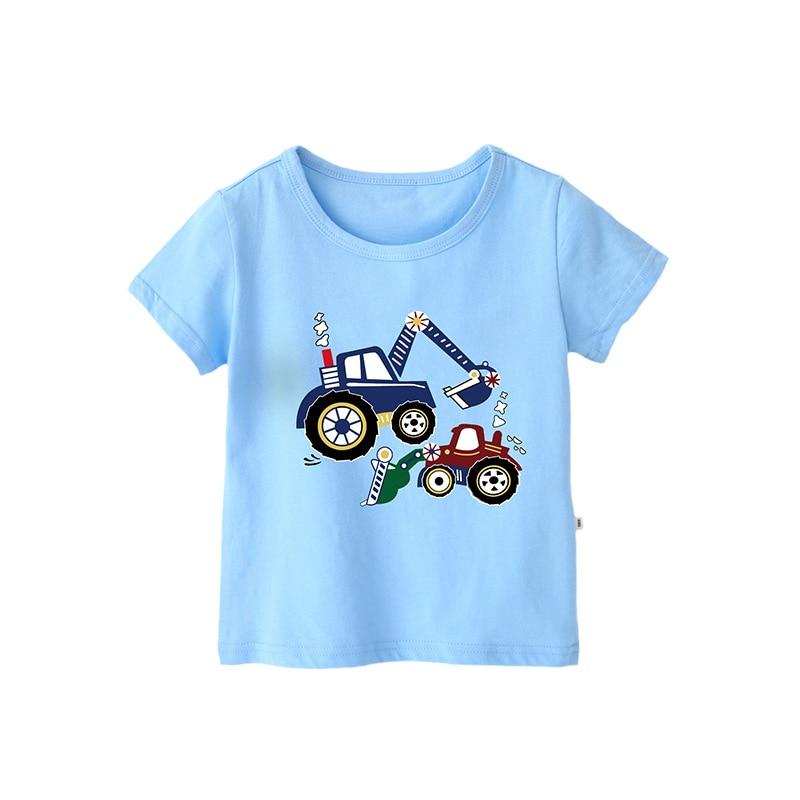 VIDMID Cotton Children's T-Shirts Tees Summer Baby Boys T-shirt Short Sleeve Kids T-Shirt Tees Children Clothes Tops 4018 41