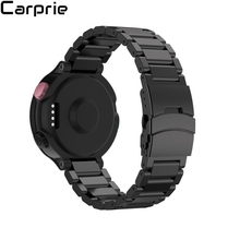 Best Price ! 4 colors Soft Metal Stainless Steel Watch Band Strap For Garmin Forerunner 220 230 235 630 620 735 top quality fe7