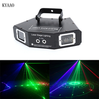 Laser Stage Light RGB Scanner car DJ Dance Xmas Show LED professional Effect Projector club disco equipment