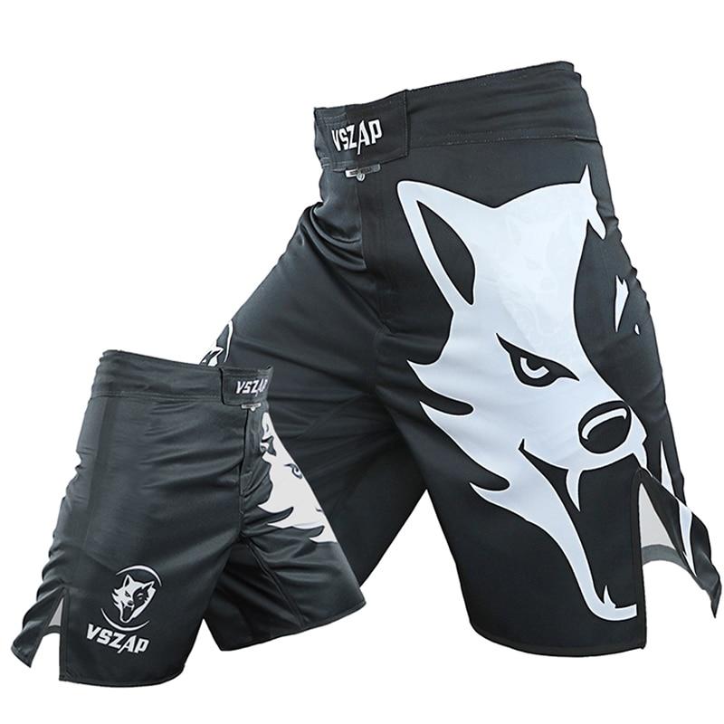 Men New VSZAP FIGHT Fight Fitness MMA   Shorts   UFC Sanda Muay Thai Fighting Martial Arts Wind Sports Running Training   Shorts