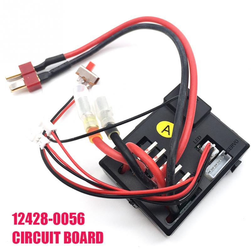Receptor de Controle remoto Acessórios Do Carro RC Peças de Reposição Para Wltoys 12428 12423 1/12 Carro Do RC
