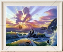 Square diamond embroidery diy 5d painting scenery The clouds Love cross stitch pattern Rhinestone Home decor