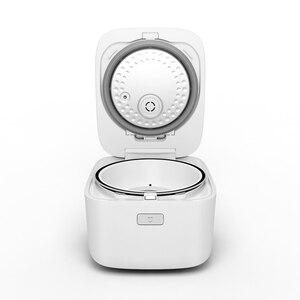 Image 5 - Электрическая рисоварка Xiaomi HI, сплав 3л, чугунная скороварка с подогревом, пищевой контейнер, Кухонная техника, приложение Wi Fi