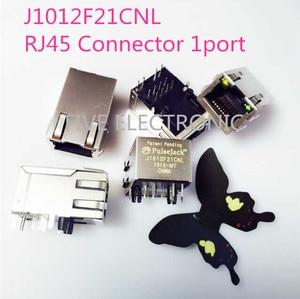 Бесплатная доставка! J3011G21DNL RJ45 разъем, 553-1491 CONN MAGJACK 1 порт 100 BASE-TX