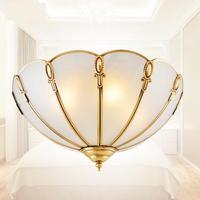 2016 New Design Tiffany E14 Glass Ceiling Lamp Luminaria Energy Saving 110 240V Surface Mounted Vintage