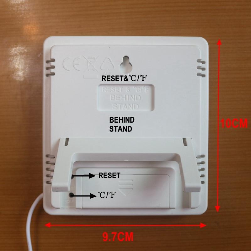 Ketotek Termómetro digital Higrómetro LCD electrónico Medidor de - Instrumentos de medición - foto 4