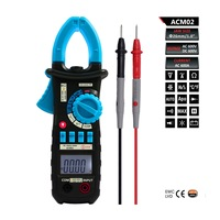 Bside ACM02 4000 Counts Auto range 600A AC Current Digital Clamp Meter Multimeter Temperature Frequency Capacitance Tester UT202