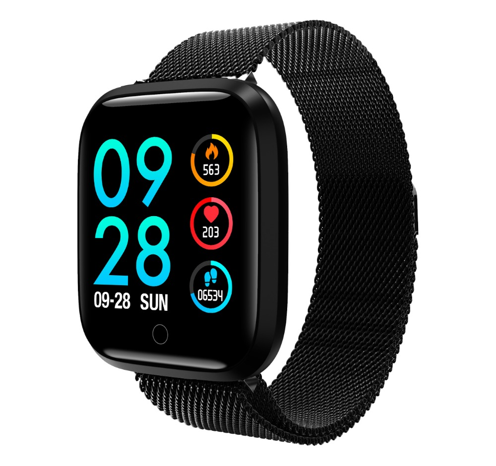Q8 pulseira inteligente atividade rastreador de fitness banda Pulseira de relógio monitor de pressão arterial medição ip68 À Prova D' Água de Natação homem