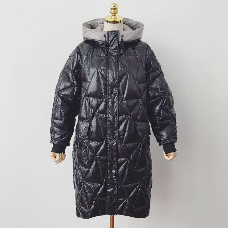 Winter women's Coat women Warm Clothing women's down Jacket Pregnant Women outerwear overcoat duck down parkas plus size 977 plus size women s cotton filer winter coat thick pregnant coat hooded long slim design down overcoat outerwear mother clothing