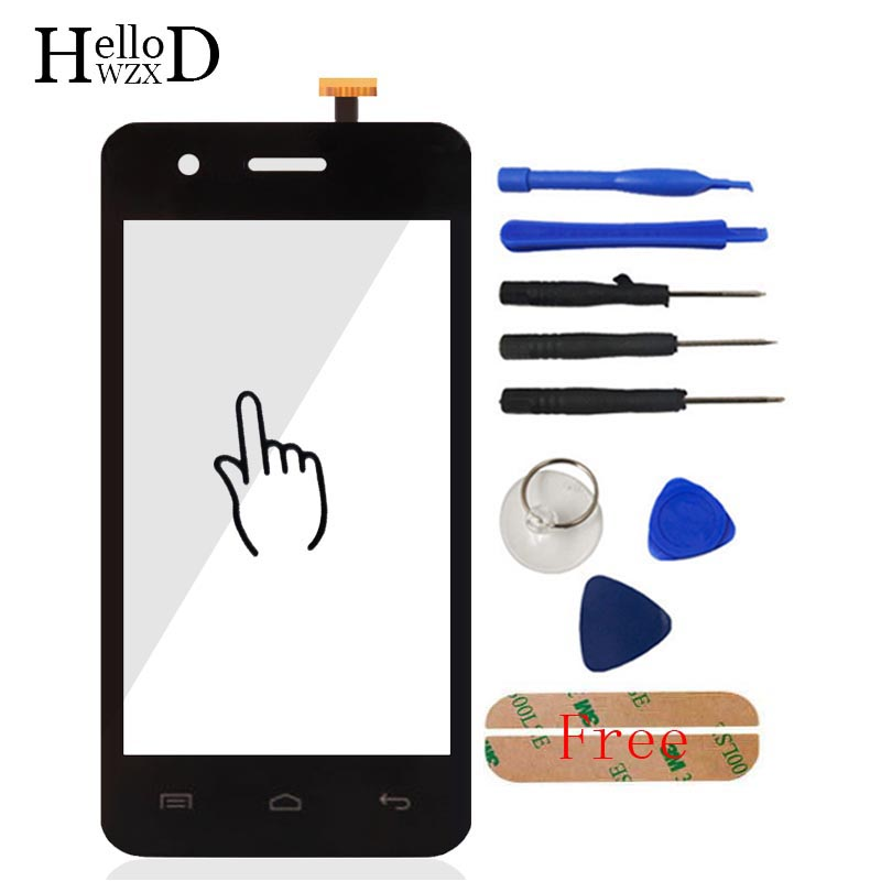 4.0'' Mobile Touch Screen Glass For Explay Onyx Touch Screen Glass Digitizer Panel Front Glass Lens Sensor Replacement Adhesive