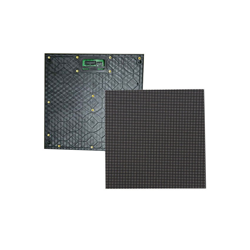 Outdoor 250*250mm P3.91mm 64*64pixels 1/16S SMD1921 Rgb Led Module For Advertising Panel Led Video Wall Screen