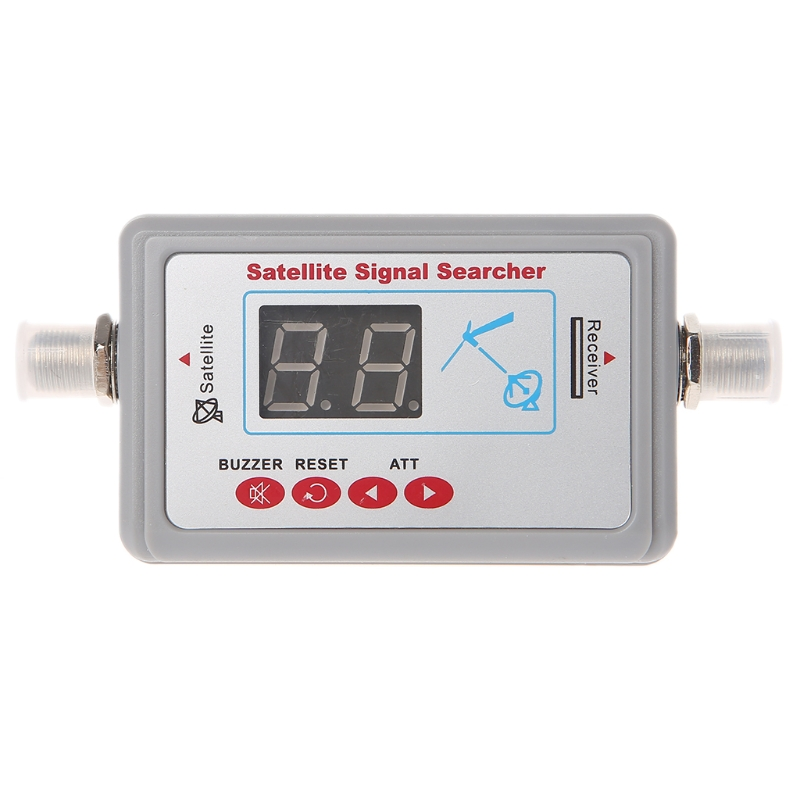Digital <font><b>TV</b></font> Antenne Satellite Signal <font><b>Finder</b></font> Meter Searcher LCD Display SF-95DL F42DWholesale dropshipping image