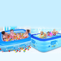 TK13 Infant children's pool home adult oversized inflatable pool thickening family kids pool baby tub