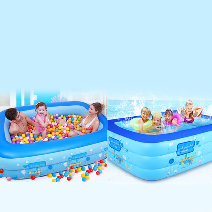 TK13 Infant children's pool home adult oversized inflatable pool thickening family kids pool baby tub 2016 bathroom cartoon family center inflatable swimming pool child baby kids infant bath tub free shipping