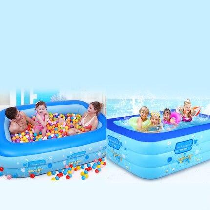 TK13 Infantile enfants piscine de la maison adulte surdimensionné piscine gonflable épaississement famille enfants piscine bébé baignoire