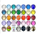 Comercio al por mayor 1440 unids/pack SS3 cristal Multicolor (3d decoraciones Del Arte Del Clavo) no Pegamento Caliente del Arreglo de los rhinestones para uñas BRICOLAJE piedra