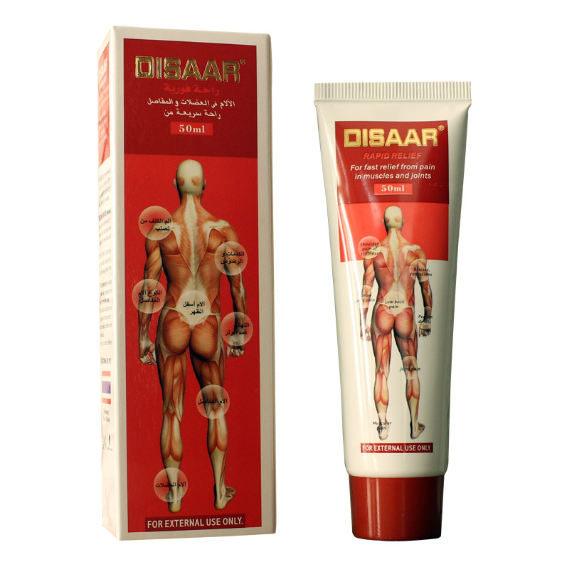 DISAAR fast relief MUSCULAR SPRAINS Arthritic pains Acid ointment 50ml neck backaches leg pains health care massage cream