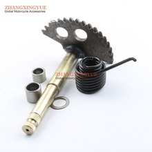 Kick Start Gear Shaft Spindle for GY6 125cc 150cc 152QMI 157QMJ Chinese Scooter Parts 129mm