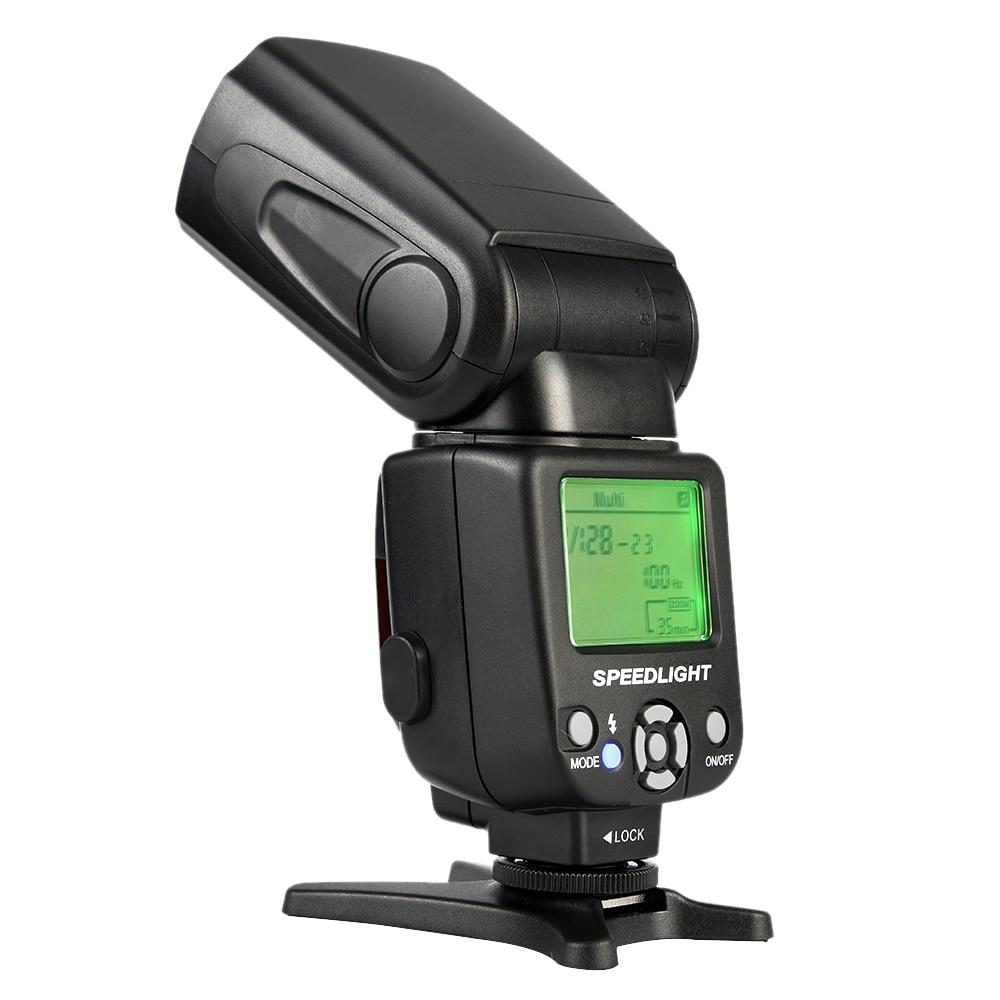 Nuovo Triopo tr-Flash Light Speedlite Universale Per Fujifilm Olympus Nikon Canon 650D 550D 450D 1100D 60D 7D 5D Telecamere
