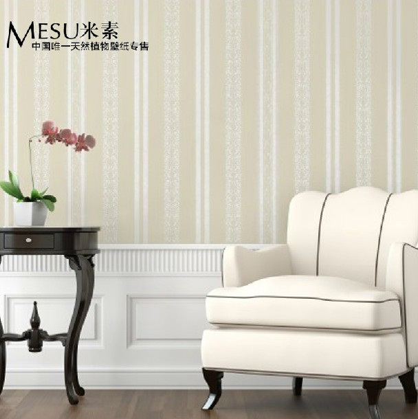 New Non-woven wall stickers simple plain coloured stripe wallpaper The sitting room the bedroom wall paper in the background new warm shadow plain coloured wallpaper contracted european style wall paper the sitting room dining room study bedroom wall