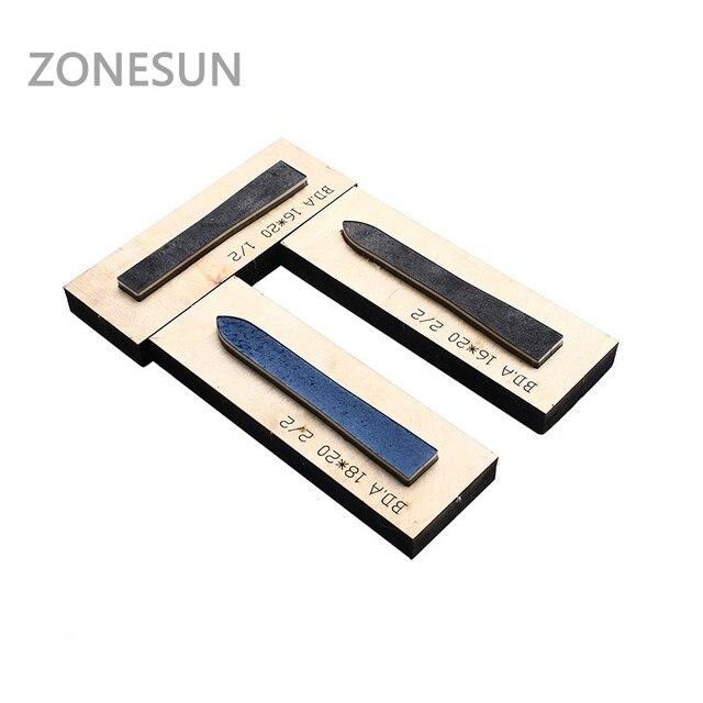 zonesun leather cutting die for watchband watch strap handicraft