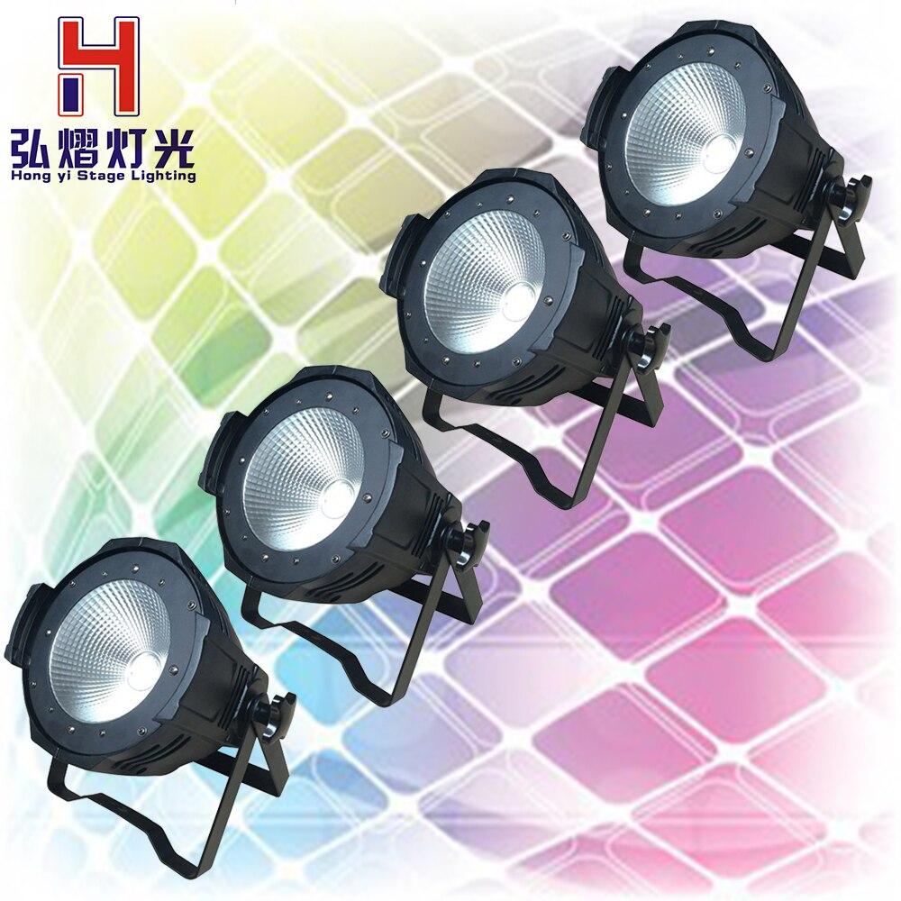 4pcs/lot 100W COB LED par light DMX Theater Spotlight 2in1 LED Stage Lighting Projector high bright dmx stage cob led light цены онлайн