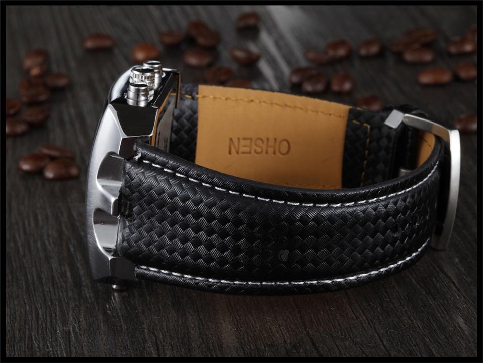 Hot Fashion OHSEN Brand Men Sports Watches Analog Casual Quartz 3ATM Waterproof Sport Military Watch Men Relogio Male Clock Gift (24)