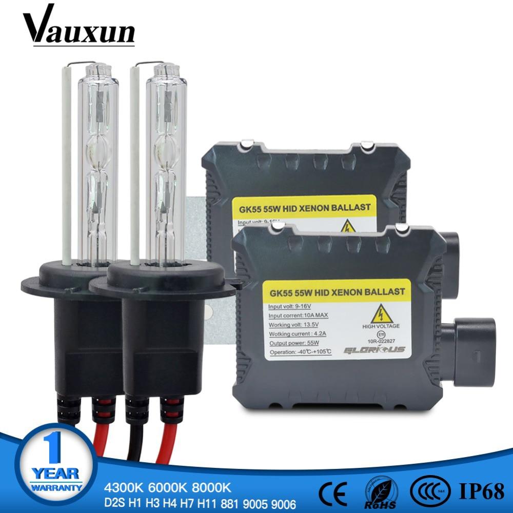 Ac 55w Fast Start Ballast Hid Bulb Car Xenon Headlight Retrofit 9005 9006 Relay Wiring Diagram One Set H7 Kit H4 H1 H11 H8 Hb3 Hb4 881 D2s