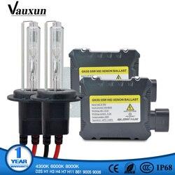 Xenon H7 H4 H1 H11 HID Kit GK55 55W Series H8 HB3 HB4 881 D2S Xenon Hid Ballast For Car Light Headlight 4300K 6000K 8000K