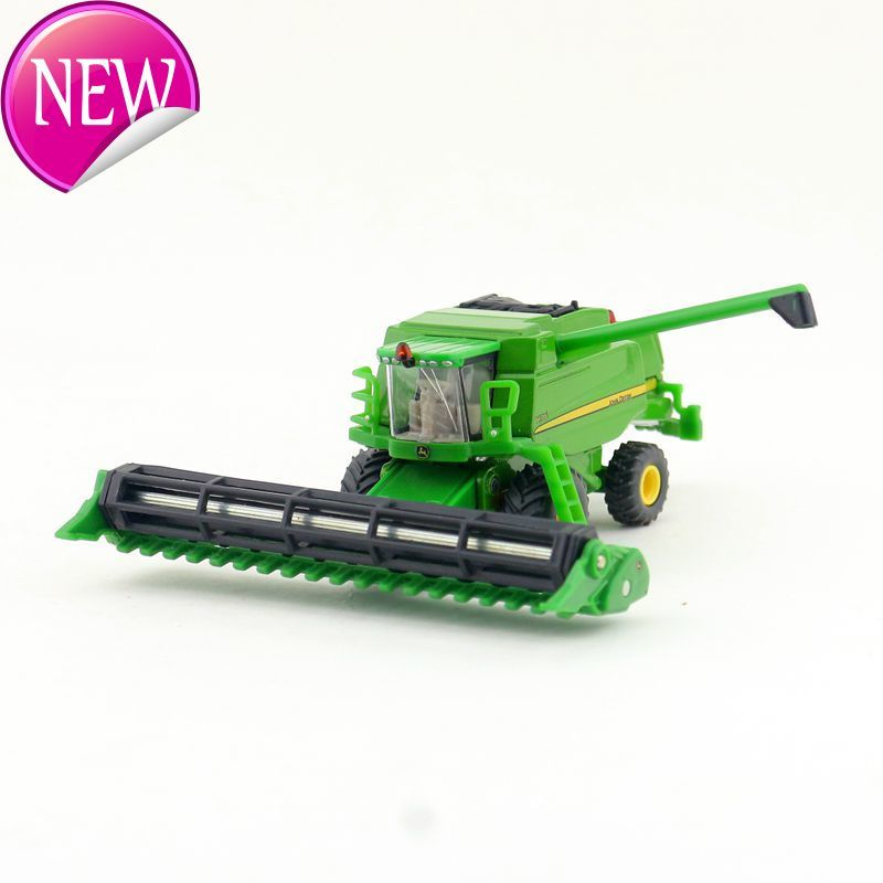 Toy Tractors For Sale >> Us 21 84 16 Off Freeshipping High Simulation Agricultural Tractors Mowers 1 87 Alloy Harvester Tractor High Quality Toy Gifts Sale In Diecasts Toy