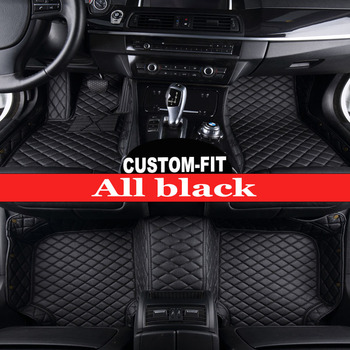 Custom fit car floor mats for BMW 5 series E39 E60 E61 F10 F11 F07 GT 520i 525i 528i 530i 535i 530d 5D carpet liners(1996-now)