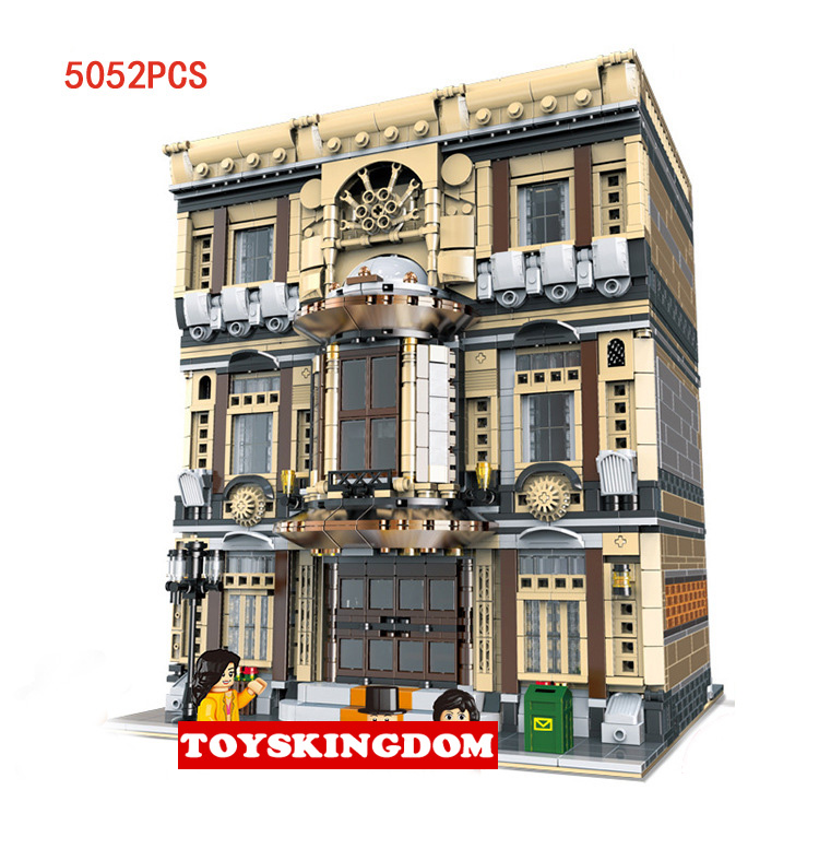 Hot City street view Maritime Museum moc building block model bricks doll figures educational collection toys for kids gift quantitative risk assessment for maritime safety management