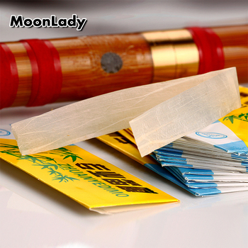 Chinese Bamboo Flute Diaphragm Dizi Membranes Musical Instrument Accessories Dizi Membranes Traditional Good Quality Dimo key g vertical bamboo flute separable 3 section musical instruments chinese traditional handmade woodwind instrument xiao