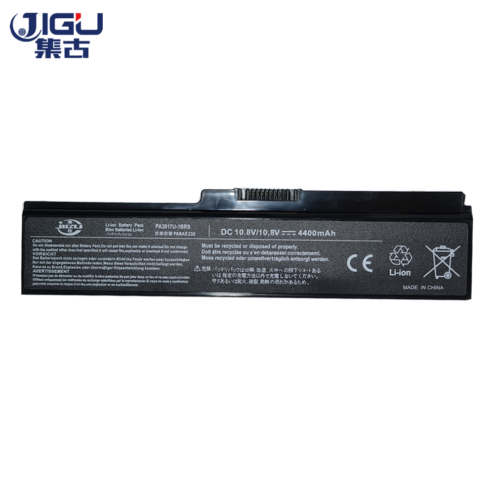 JIGU Laptop Battery For Toshiba Satellite A660 C640 C650 C655 C660 L510 L630 L640 L650 U400 PA3817U-1BRS PA3816U-1BAS jigu laptop battery for dell 8858x 8p3yx 911md vostro 3460 3560 latitude e6120 e6420 e6520 4400mah