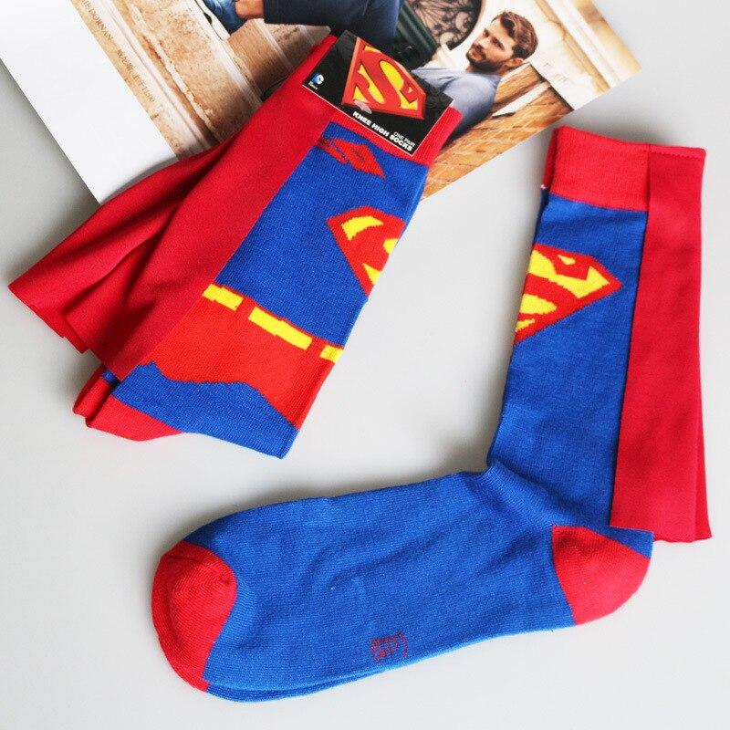 Avenger Deadpool Punisher Superman Socks New Cotton Fashion Casual Women Men Socks Summer Teenager Sock